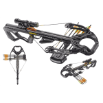 EK Archery Guillotine X Crossbow-Package 185lbs/400fps