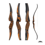 Oak Ridge Hardwood One Piece Hunting Recurve Bow 62""