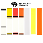 Bearpaw Arrow Wraps (various colors)