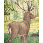 JVD Animal Target Face Large Deer (119cm)