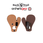 Buck Trail Leather Tab with Finger Spacer