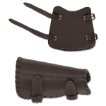 Buck Trail Tribal Armguard (oiled leather)
