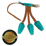 "Neet T-G5 ""turquoise"" Traditional Suede Glove"