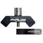 Avalon Classic V-Bar 40° Aluminium (black)