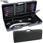 Negrini 4660 Professional Recurve Bow Case with Wheels