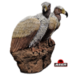 Asen/Wildcrete 3D Vulture Pair