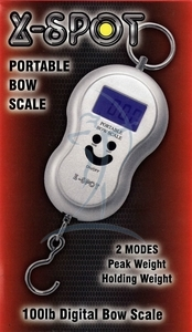 X-Spot digital Draw-Weight Scales