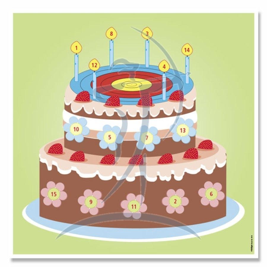 Kruger Archery Fun Target Birthday