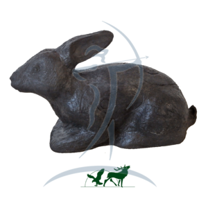 Leitold 3D-Target Bedded Rabbit black edition