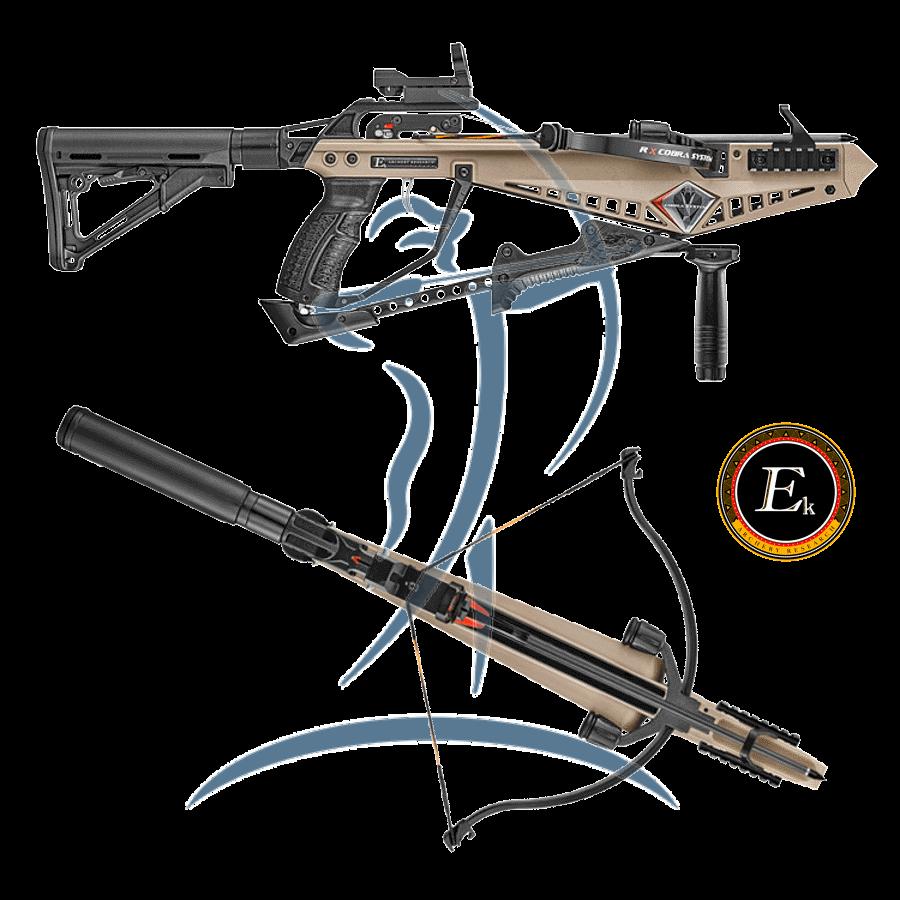EK Cobra System RX Pistol Crossbow Deluxe Package [EK-COBRARX] - 219,95 € -  Bogentandler at - Der Österreichische Bogensport Onlineshop
